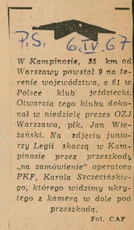1967.04.06 - PRZEGLĄD SPORTOWY