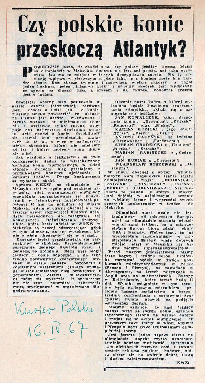 1967.04.16 - KURIER POLSKI