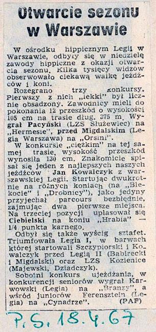 1967.04.18 - PRZEGLĄD SPORTOWY