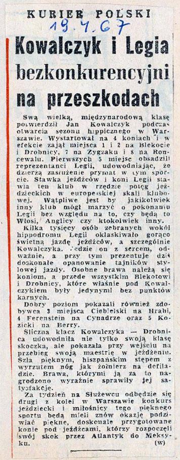1967.04.19 - KURIER POLSKI