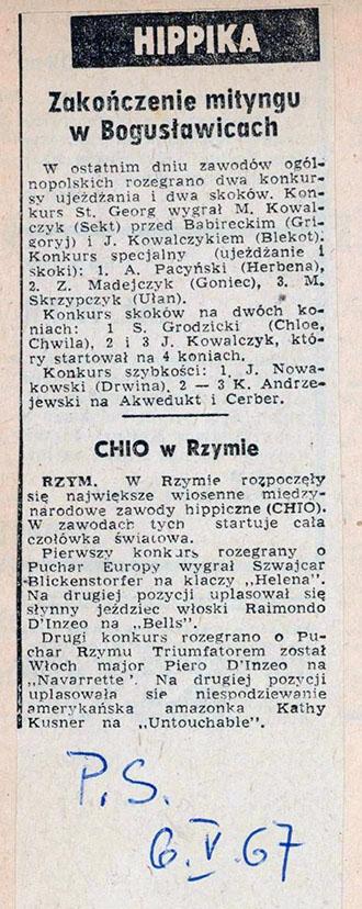 1967.05.06 - PRZEGLĄD SPORTOWY