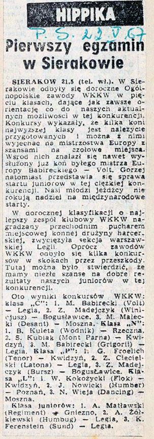 1967.05.22 - PRZEGLĄD SPORTOWY