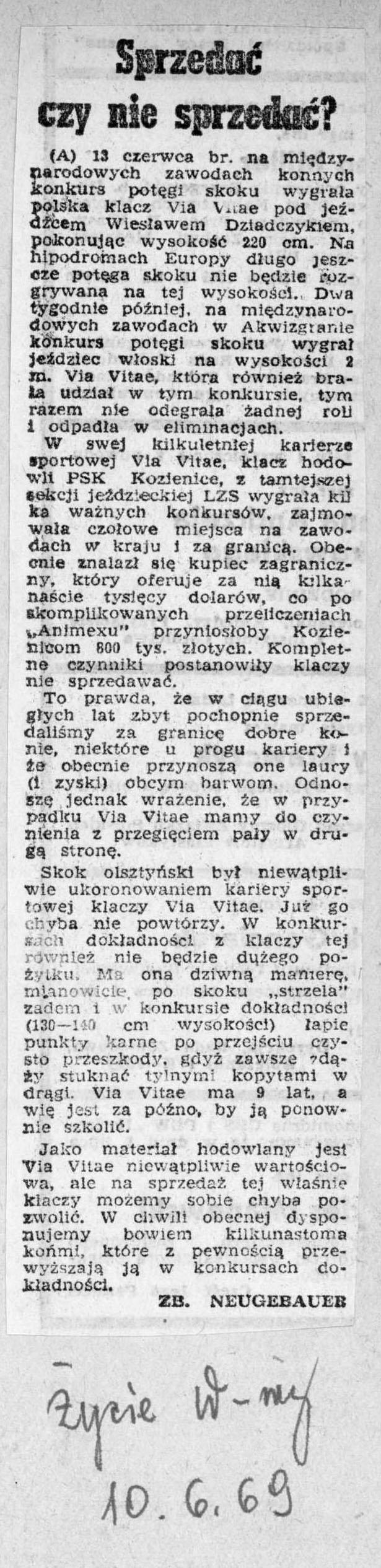 1969.06.10 - ŻYCIE WARSZAWY