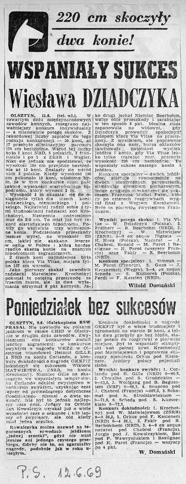 1969.06.12 - PRZEGLĄD SPORTOWY